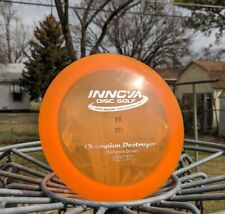 Innova rare great condition 2013 Penned Domey Pop Top Champion Destroyer 175g