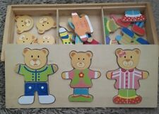 kids wooden puzzles X 4