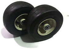 Set of 2 New Deck Caster Wheels and Tires for Mower Deck 9x3.50x4 603971 403800