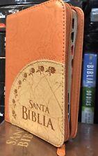 Biblia Pequeña Letra Grande Con Indice Reiena Valera1960 durazno concordancia