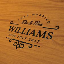 Personalised Wedding Wall Dance Floor Graphic Sticker Decal Decor Monogram
