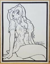 """Hunni"" Michael Thompson Furry Hand Drawn Art RARE"