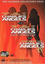 Ultimate Collector's Pack: CHARLIE'S ANGELS: Full Throttle+ DVD 3-MOVIES BOX R4