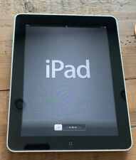 Apple iPad 16GB Tablet A1219 - 1st Generation w/ Charging Cord (No Wall Charger)