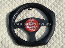 i - SUITABLE FOR AN ISUZU TROOPER, STEERING WHEEL COVER, CARBON FIBER LOOK R1 BK