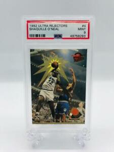 1992-93 Ultra Rejectors Shaquille O'Neal PSA 9 Mint #4