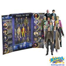 DOCTOR WHO Eleven Doctors TARDIS Box Set *BRAND NEW*