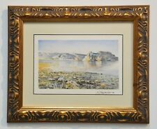 EXQUISITE PAINTING OF CASTLE ROCK BADLANDS / MONUMENT ROCKS ~ LISTED ARTIST