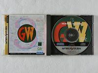GAME WARE Vol 3 SS Sega Saturn From Japan