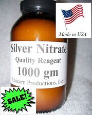 Silver Nitrate Quality Reagent - 1000 grams or 1 Kilo