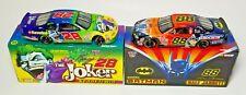 ACTION 1/32 1998 DALE JARRETT & KENNY IRWIN BATMAN AND JOKER 2 CAR NASCAR SET