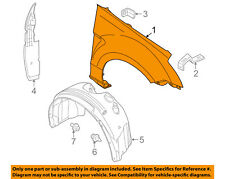 FORD OEM 08-11 Focus-Front Fender Right 8S4Z16005A