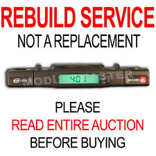 95 96 97 Jaguar center console switch LCD clock REBUILD REPAIR