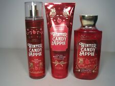 BBW WINTER CANDY APPLE Multi Product GIFT SET