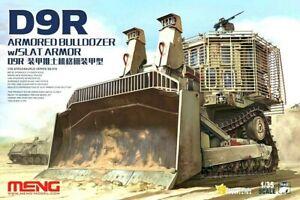 Meng Models 1:35 D9R Armoured Bulldozer w/ Slat Armour Model Kit