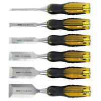 Professional Stanley Sheffield Steel Chisel Set (6-Piece), Wood Working Set