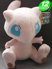 12'' Mew Plush Pokemon Anime Stuff Doll Pocket Monster Game Toy Animal PNPL8044