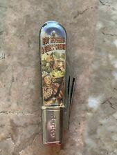 VINTAGE ROY ROGERS POCKET KNIFE MADE USA