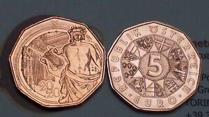 5 euro 2020 Cu Austria Autriche Österreich Nuovo Anno Neujahrsmünze Musikverein