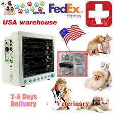 Patient Monitor Veterinary Vet  6 Parameter,ECG,NIBP,PR,Spo2,Temp,Resp,CE,FDA