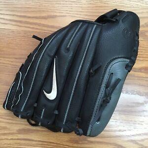 nike de edge 11 in baseball glove black RHT mens