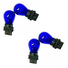 4x 3156 Blue Bright Light Bulbs Car Auto Signal Turn Backup S8 Miniature Lamp
