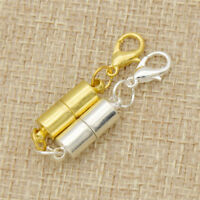 Silver Gold Alloy Strong Magnetic Clasps for Necklace Bracelet Chain Buckle DIY