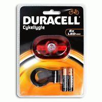 Duracell torcia a led per bici biciclette ruota posteriore retro bike lights
