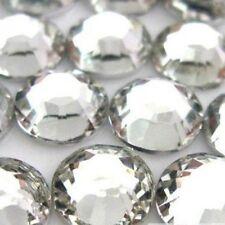 Weiss 1000-teilige flache Rueckseite Genial 14-geschnittene runde Strassstein SC