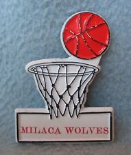 Milaca Wolves Basketball Rubber Magnet, Souvenir, Travel, Refrigerator