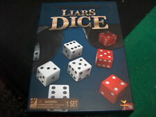 Traditions LIAR'S DICE Game Cardinal Timeless Classic Bluffing Game