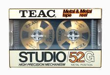 TEAC Studio 52/G metal tape & metal reel vintage audio cassette blank new!