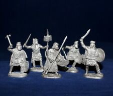 40 mm Metal Soldier Set - Persians Warriors - 5 figures  EK Castings #kit40-09