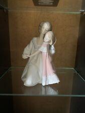 Lladro Retired Figurine Good Night #5449 Mother & Daughter