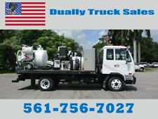 2009 NISSAN SEWER VAC TRUCK, CITY OWNED