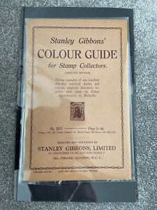 Stanley Gibbons 1935 Colour guide No 2077.Rare FINE Condition.Benefits Charity