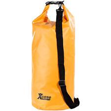 Regenfeste Packsäcke: Wasserdichter Packsack 25 Liter, orange (Segeltasche)