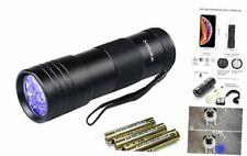 Black Light UV Flashlight,Vansky Blacklight 12 LED Urine Detector For Dog/Cat/Pe