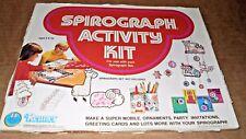 Vintage Kenner Spirograph actividad Kit de 1975 Nuevo