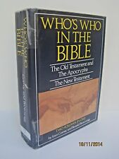 Who's Who In The Bible by Joan Comay and Ronald Brownrigg