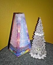Christmas Tree Fit Tree Acrylic with Colour Change LED Lighting