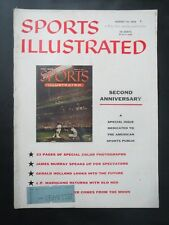 1956 SPORTS ILLUSTRATED MAGAZINE SECOND ANNIVERSARY