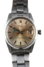 Reloj pulsera Rolex Acero Inoxidable Pintado a Mano Pato Donald dial Oyster Perpetual