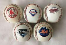 Major League Baseball 5 Ball Job Lot Mets Red Sox Padres Twins Phillies Rawlings