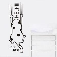 Katze help Wandtattoo Wallpaper Wand Schmuck 56 cm