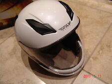 FLY HELMET STREET TOURIST SIZE XL PEARL WHITE 73-8104XL WITH EXTRA ACCESORIES !!