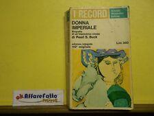 L 5.725 LIBRO DONNA IMPERIALE DI PEARL S BUCK 1965