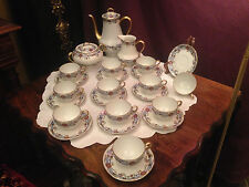 25 Teile Teeservice Limoges Frankreich riesen Set...TOP!!!! HA Balleroy Freres