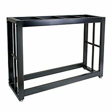 Tank Stand 55 Gallon Black,Aquarium Fish Solid Steel Welded Easy to Assemble New