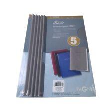 5 Bewerbungsmappen Start Grau von Pagna Standard Pappe Mappe Bewerbungsmappe